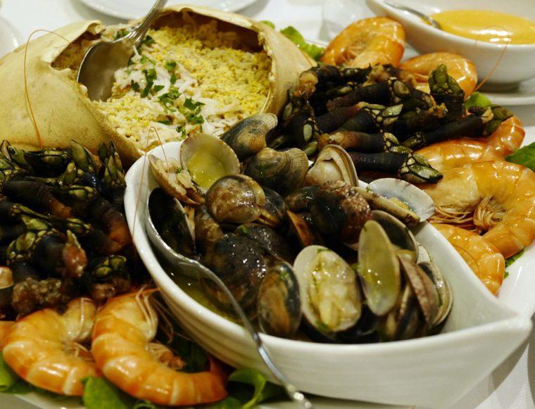 Os Lusiadas Porto - shellfish