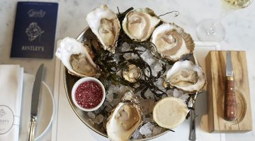 Shucks Away – Oyster Master Class at Bentley's