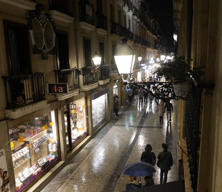 San Sebastian in the Rain