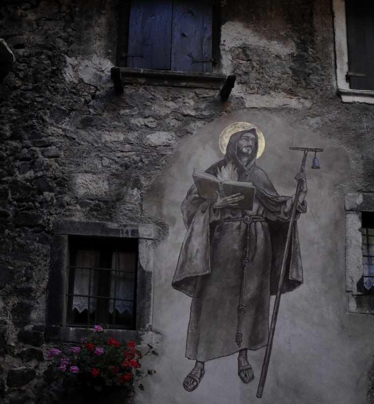 Wall Painting Canale de Tenno