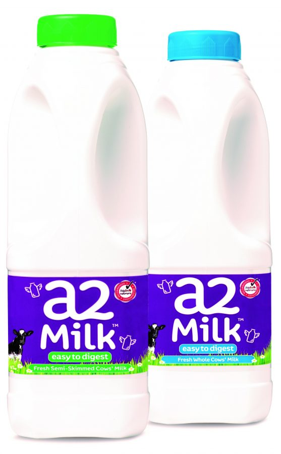 a2 Milk - 1L Whole and Semi-Skimmed - October 2016