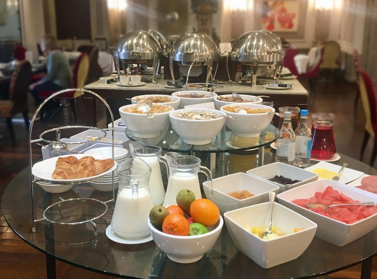Breakfast Buffet Down Hall 2