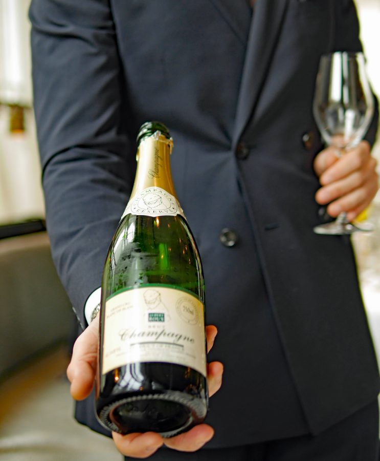 Champagne Albert Roux - Roux at the Landau