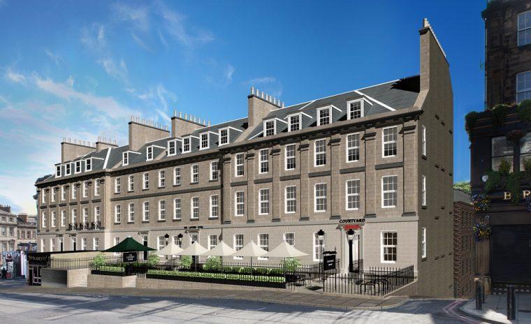 Marriott Edinburgh Restaurant Menu
