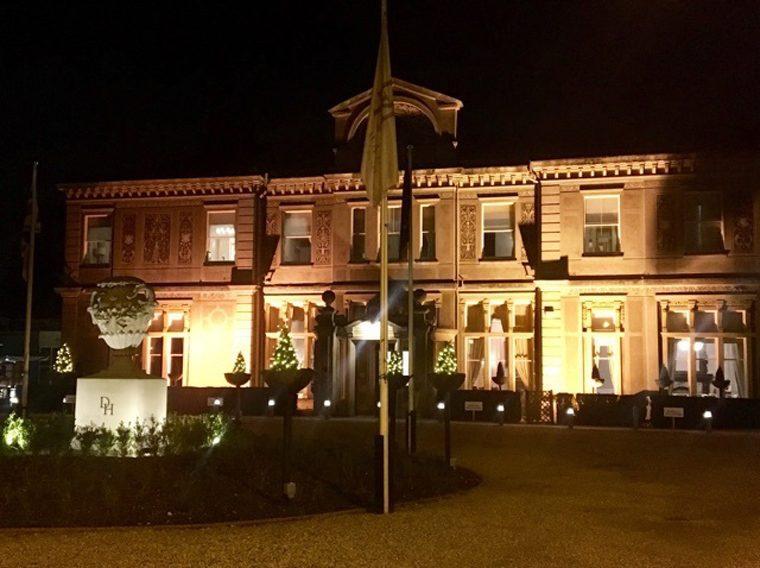 Down Hall at night-1