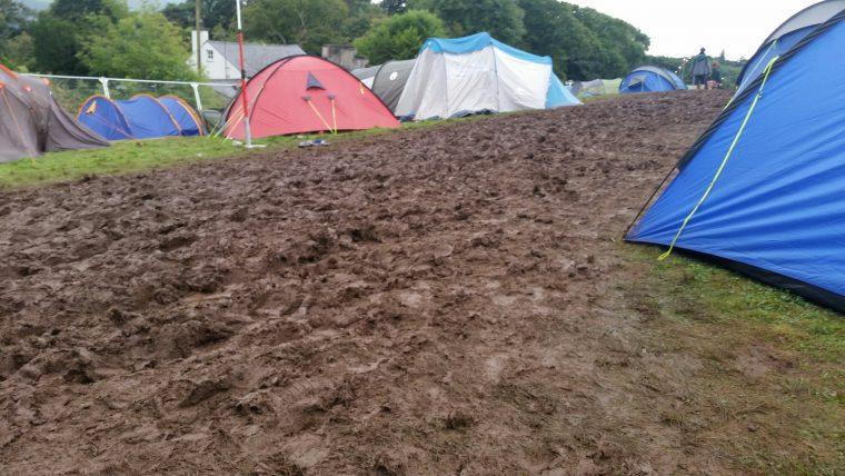 Camping at Festival No. 6
