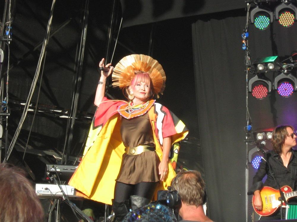 Toyah at Rewind Festival