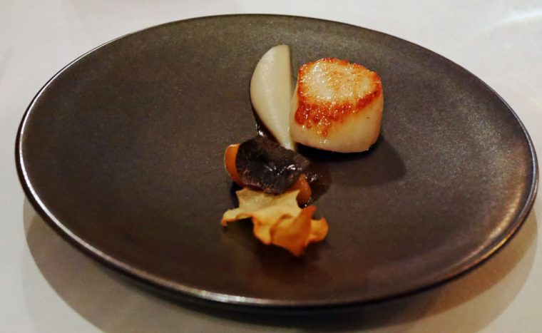 Seared Hand Dived Scallop - 7 park Place