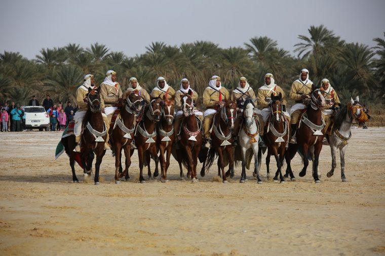 Tozeur Oasis Festival Horsemen