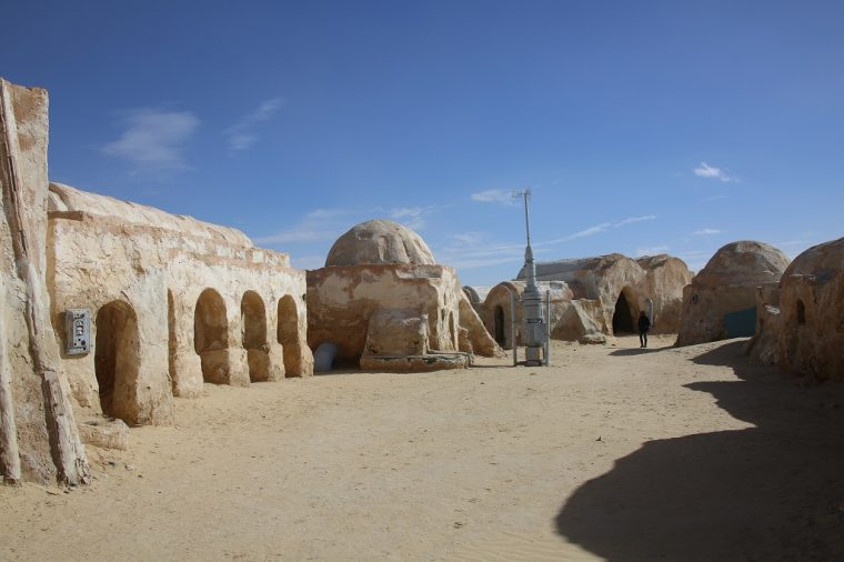 Tunisia Tozeur Star Wars Mos Espa Site