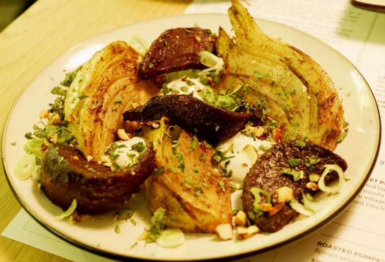 #spiced Roasted Beetroot and Fennel Ceru