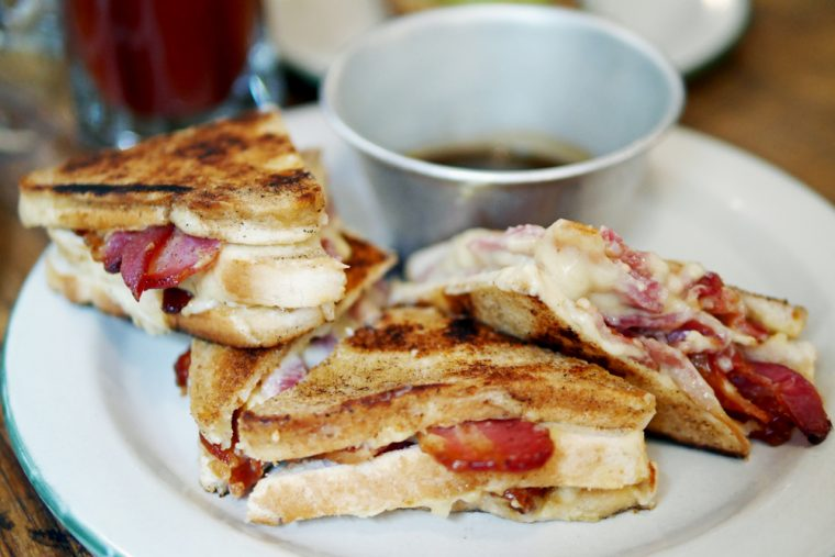 Bacon Toastie Mac and Wild