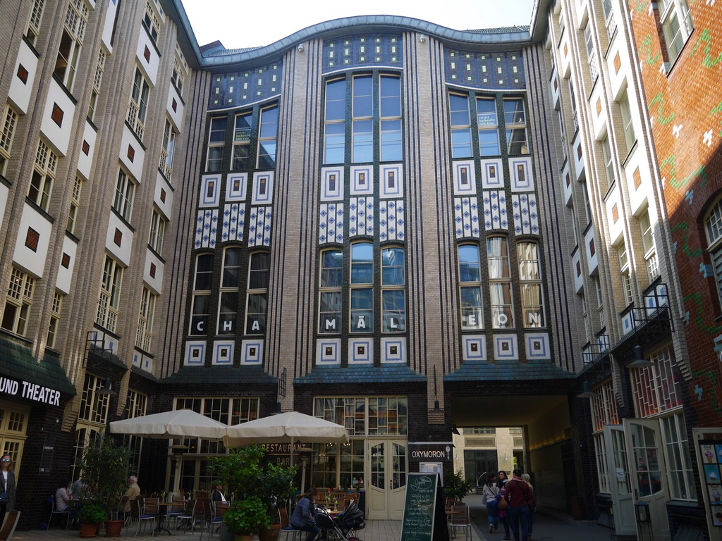 Chameleon Theatre courtyard Berlin