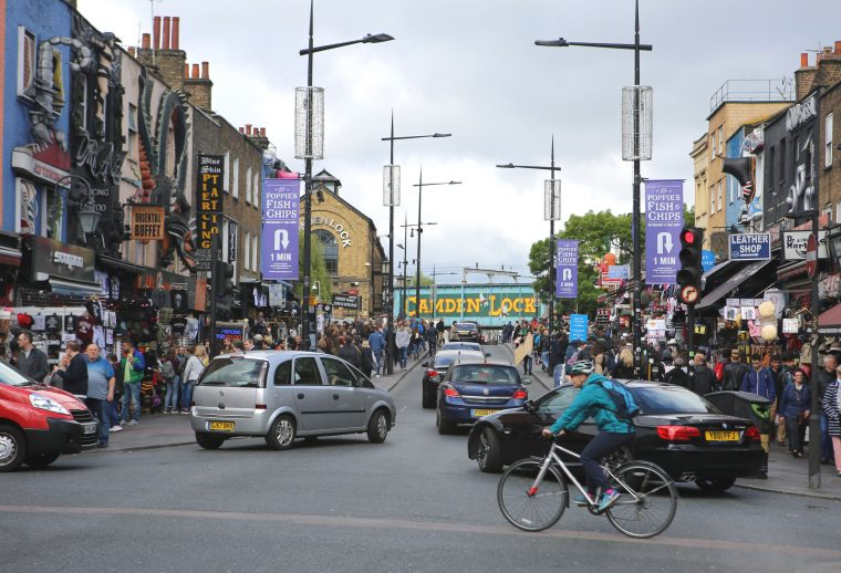 Cycle London Camden High Street