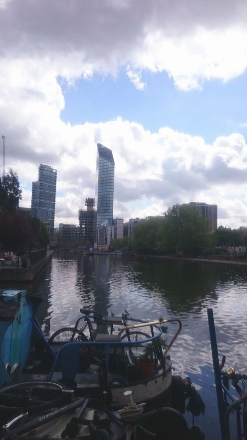 Cycle London Canal Bikes And Landmarks