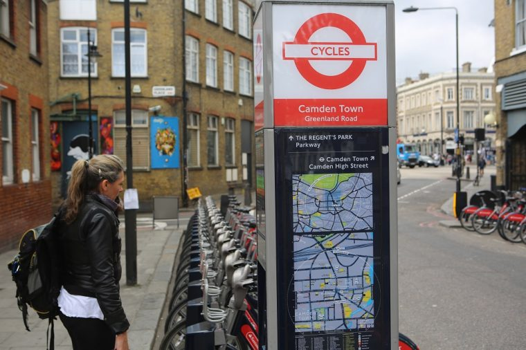 Cycle London Greenland Road Camden