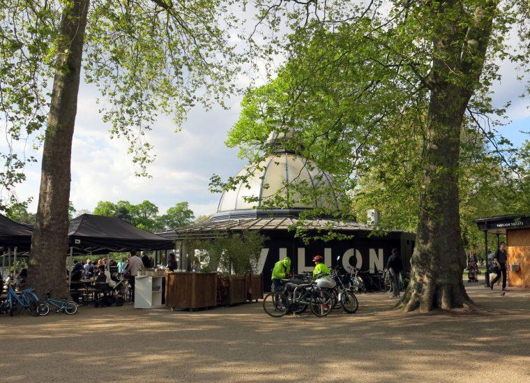Cycle London Victoria Park Pavillion