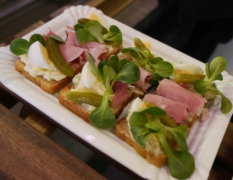 Czech open sandwiches - prague