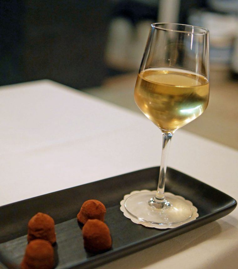 Dessert Wine and Truffles