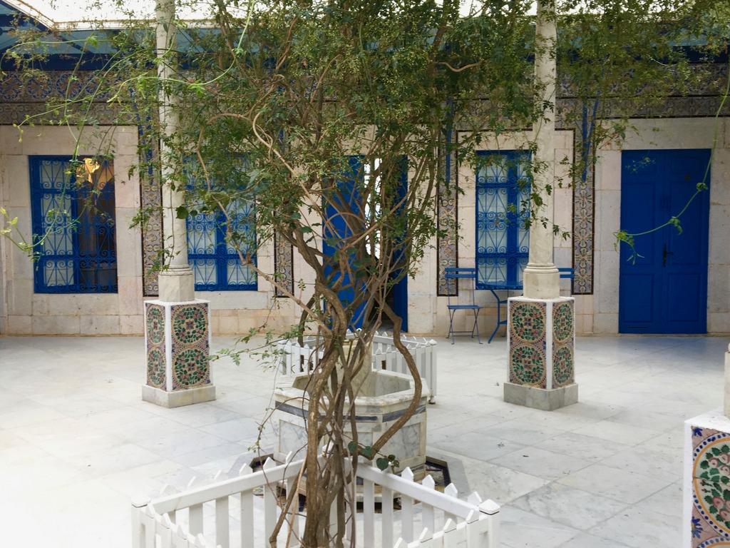 Hotel Dar Saïd courtyard, Sidu bou Said