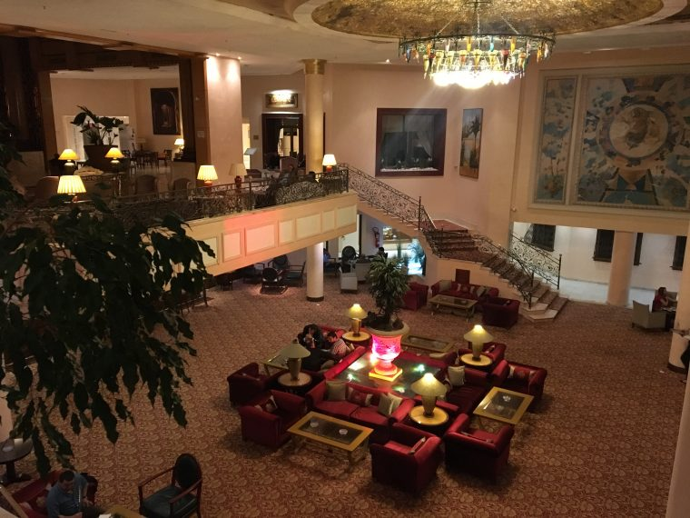 Regency Tunis Hotel Tunisia - Lobby and stairs