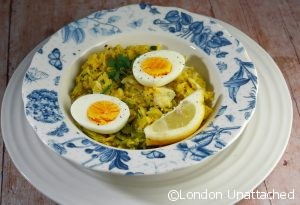 Smoked Haddock Kedgeree with Samphire