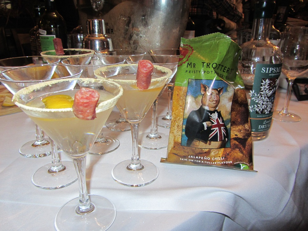 Mr Trotter - Sipsmiths martini