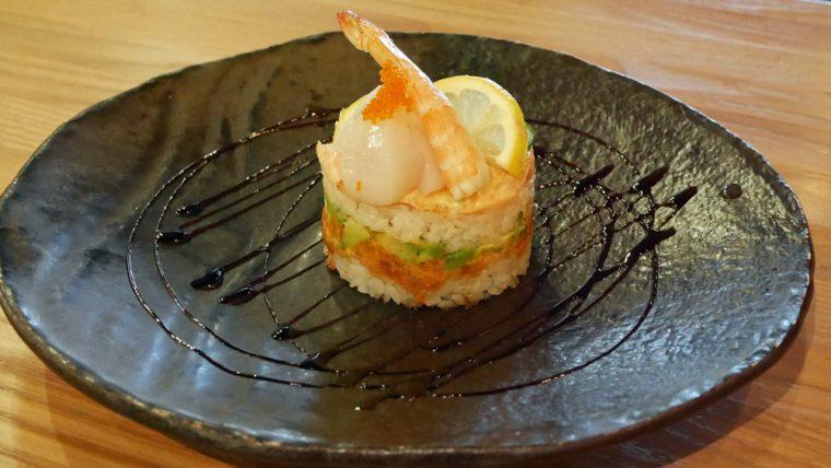 Murakami chirashi tart
