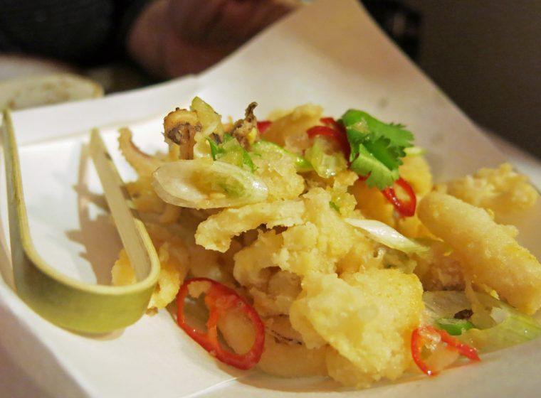 Nirvana Kitchen crispy salted squid