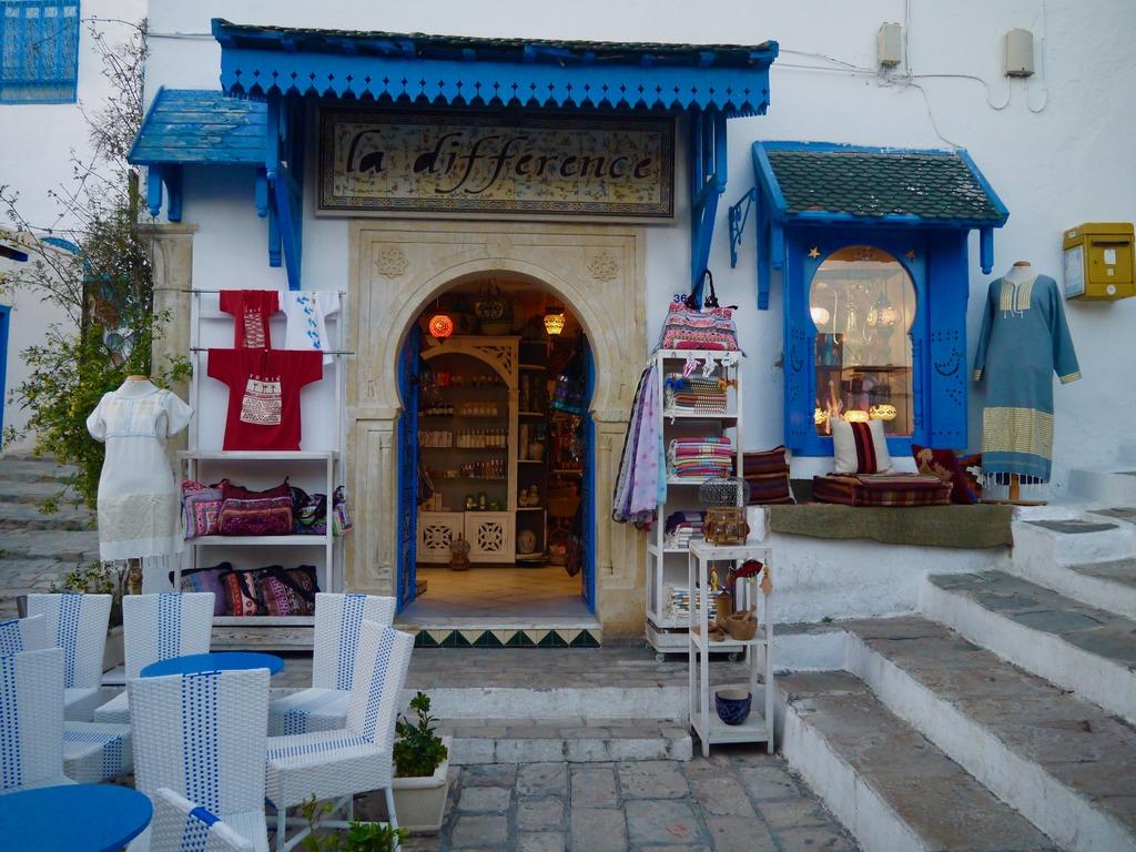 Sidi Bou Said shop