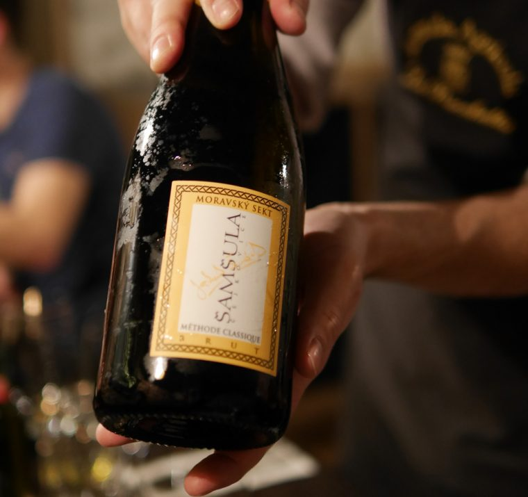 Sparkling Wine from Moravia