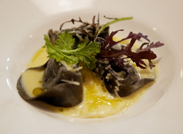 Squid Ink Crab Tortellini Orchid54 Bar and Bistro