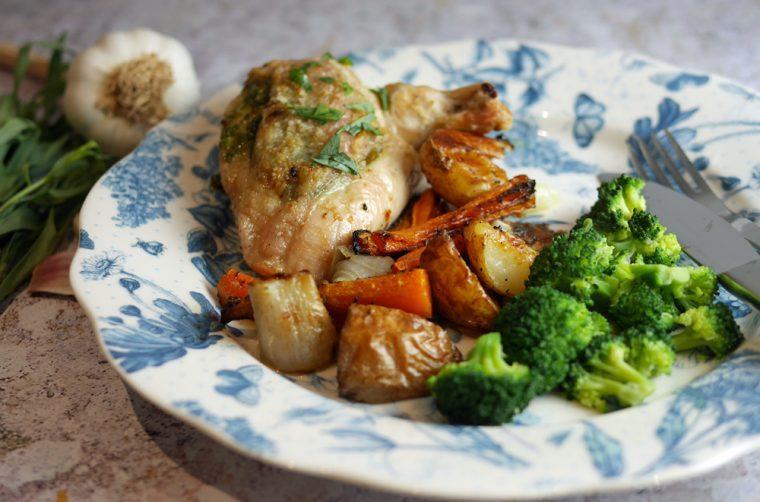 Tarragon Roast chicken supreme