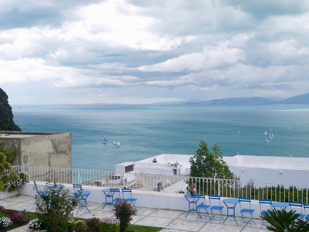 View from hotel Dar Saïd, Sidu Bou Said