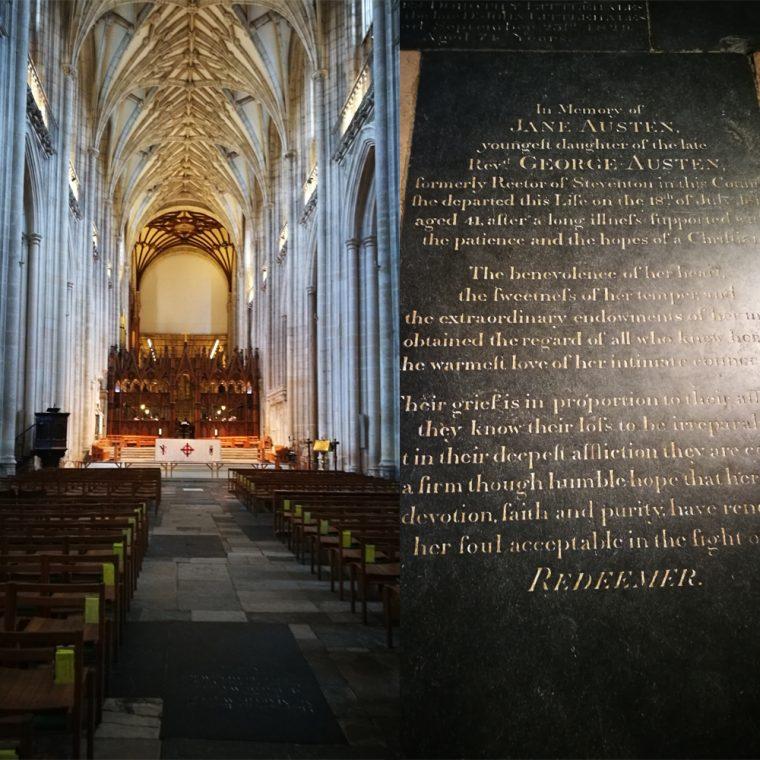 Winchester Cathedral Jane Austen