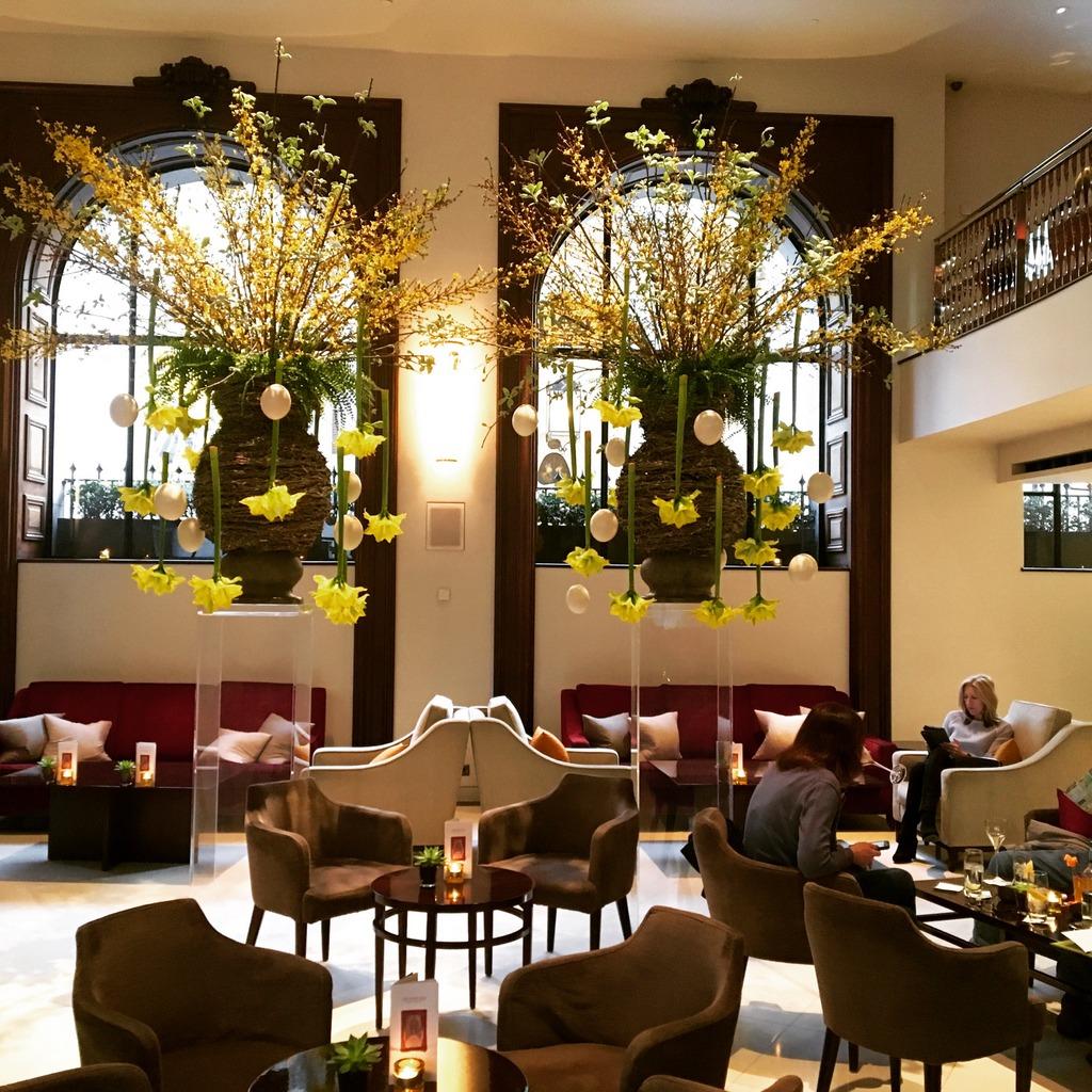 One Aldwych Lobby Bar for Afternoon Tea