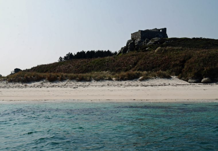 Abandoned House Scilly Isles