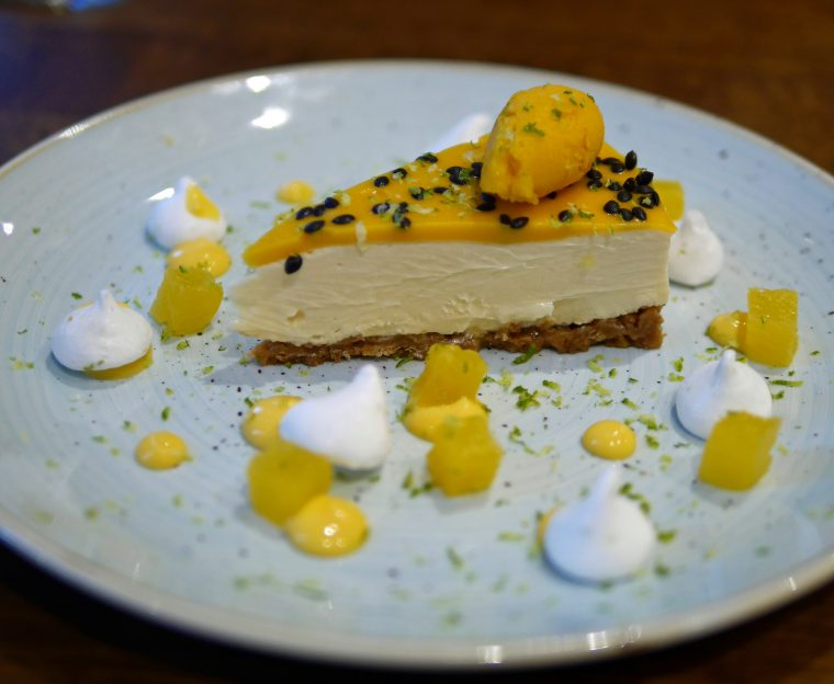 Bistro Vadouvan Passion Fruit Cheesecake
