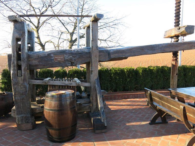 Cramele Recas Wine Press