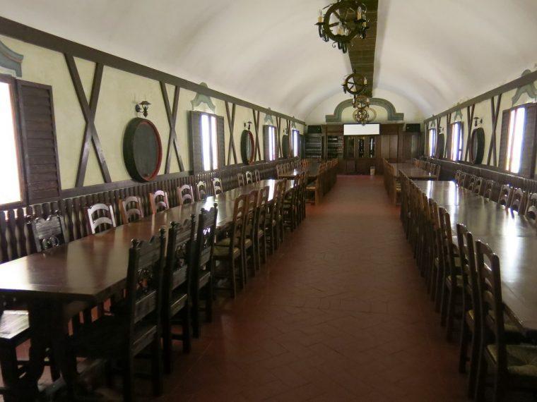 Cramele Recas Winery Romania Vaults