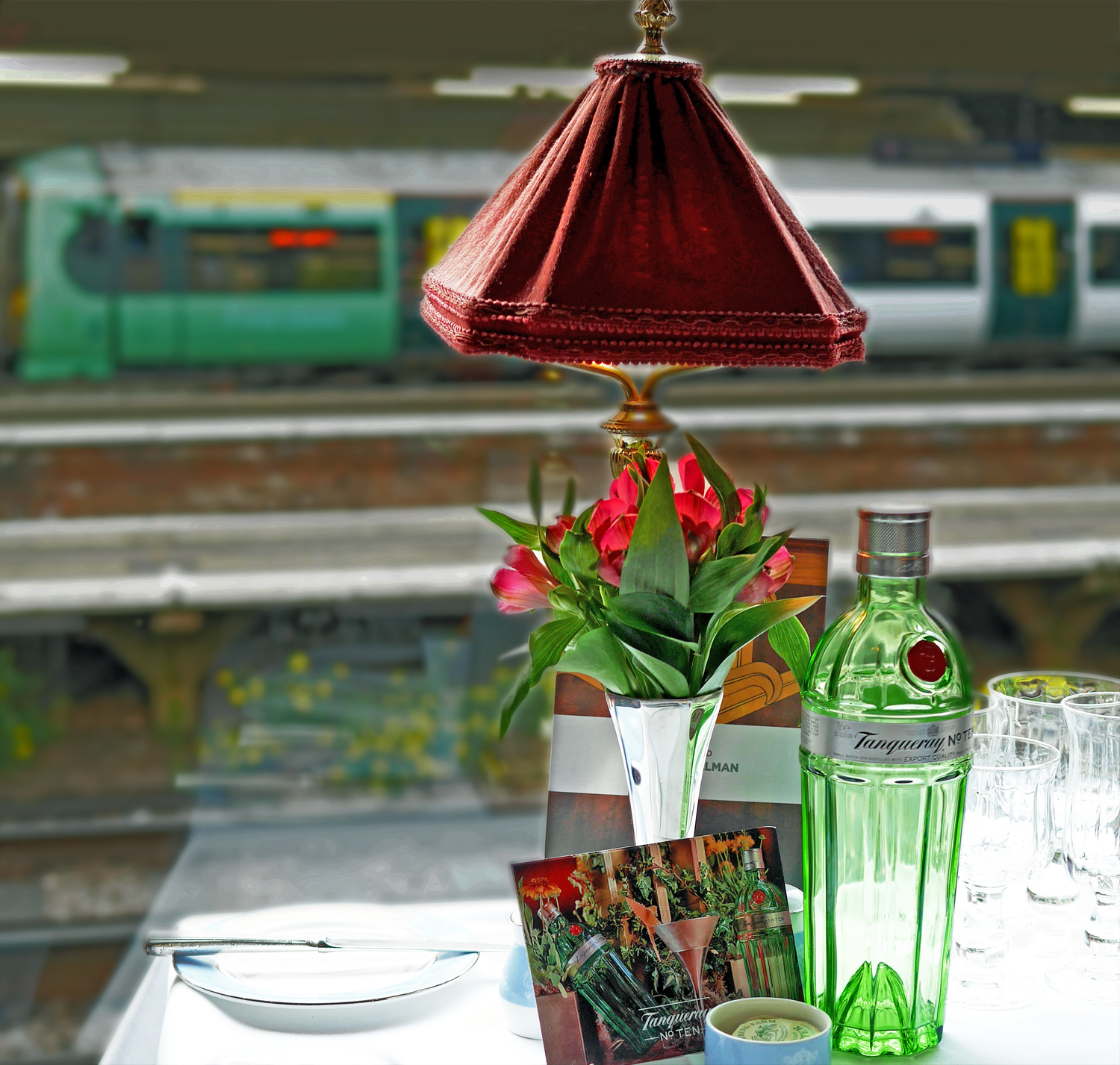 Elegant Table Setting - Tanqueray 10