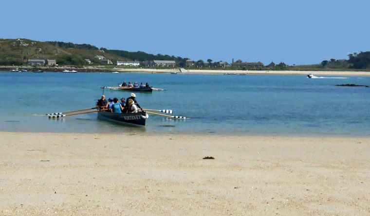 Gig Rowing Bryher