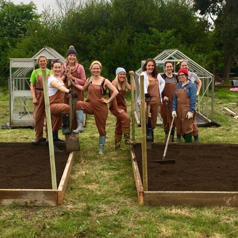 Land Girls Glamping Experience