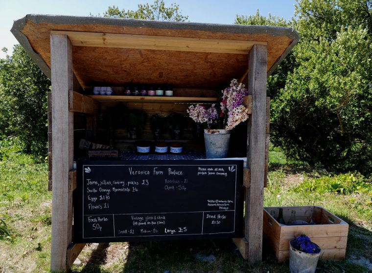 Honesty Stall = Bryher
