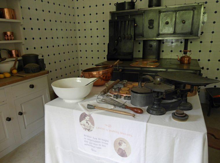 Kitchen with Miniature Range Osbourne House