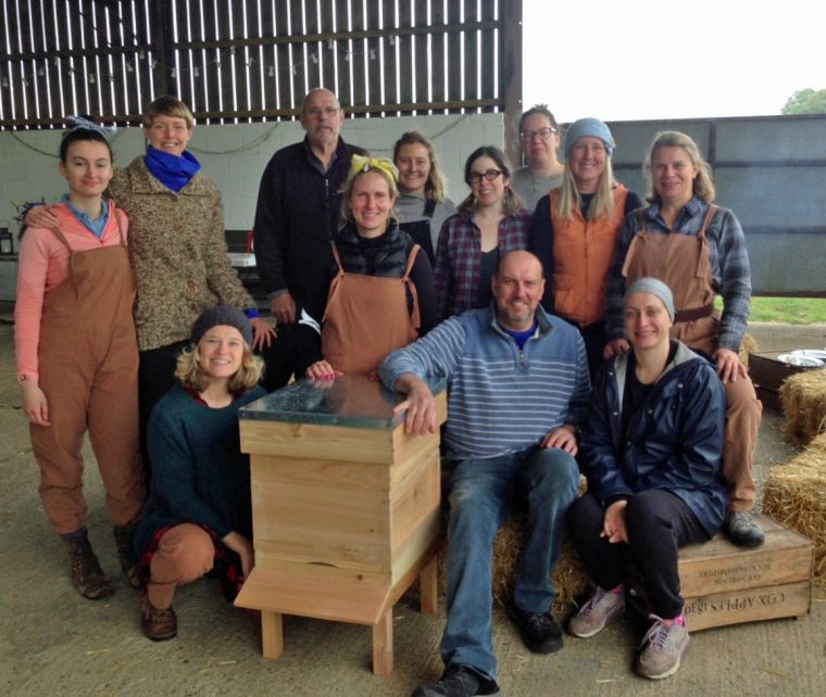 Land Girls Experience - Beehive
