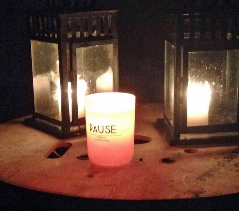 Land Girls Experience - Pause Candle