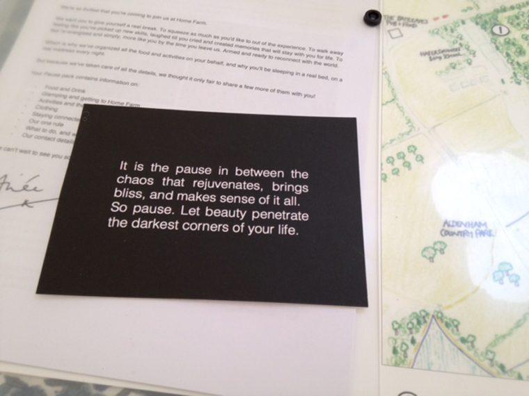 Land Girls Experience - Pause Postcard