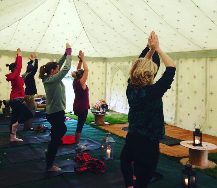 Land Girls Experience - yoga