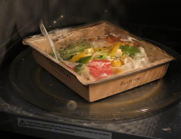Microwave from Frozen Everdine